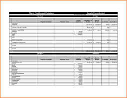 Asset Management Spreadsheet 10 Sample Church Budget Spreadsheet Excel Spreadsheets Group