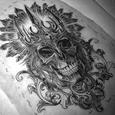 34 best skull with crown tattoo designs images on pinterest