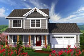 house plans with large porches 2 story home with large front porch 89906ah architectural