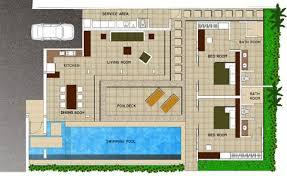 villa home plans design modern villa house plans best home floor stock home