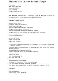Resume Job Description Samples by Driver Description Resume Resume For Your Job Application