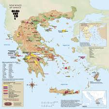 Map Of Greece by New Wines Of Greece 6 Producers To Try Napa Valley Wine Academy
