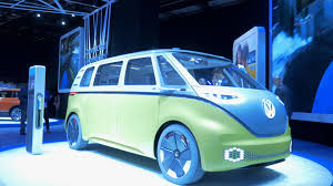 green volkswagen van the bus is back volkswagen to launch i d buzz in 2022 autoblog