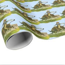 cowboy wrapping paper rodeo wrapping paper sports wrapping paper original wrapping paper