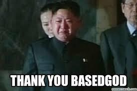 Thank You Based God Meme - image jpg