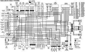 bmw k100 wiring diagram with schematic wenkm com