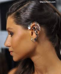 wearing ear cuffs accessory statement ear cuffs