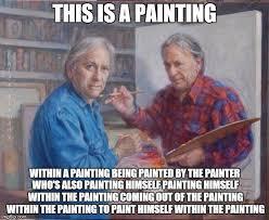 Meme Painting - enhancing matthew santorro imgflip