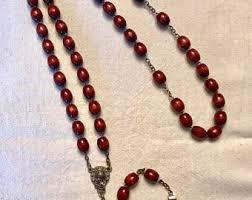 italian rosary italian rosary etsy