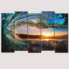 decor popular ocean art canvas for your home decor ideas