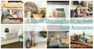 8 tips for shopping smart for home decor accessories