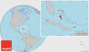bahamas on a world map gray location map of the bahamas