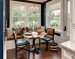 Eat In Kitchen Design Ideas Breakfast Nook Furniture Dining Room Transitional With Breakfast