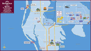Clearwater Beach Florida Map by Residence Inn Clearwater Largo Fl Booking Com