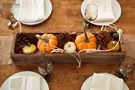 easy thanksgiving centerpiece ideas honeybear