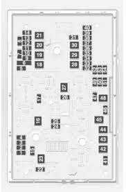 vauxhall astra 6th generation astra j 2013 u2013 fuse box diagram