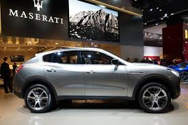 white maserati truck maserati levante expected to debut in detroit will start from u20ac90 000