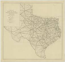 Road Map Of Texas Route 66