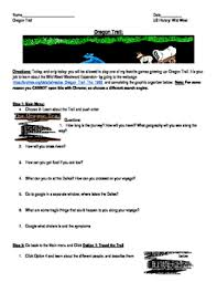 westward expansion manifest destiny oregon trail simulation
