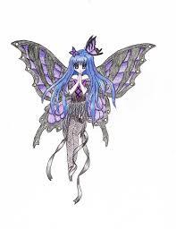 dark anime fairy by animevampireneko on deviantart