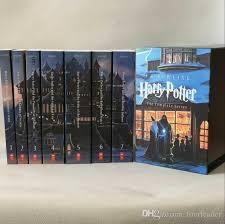 2017 harry potter paperback box books 1 7 chritmas gift