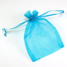 organza bag maple craft sheer organza bags with drawstrings 4 x 5 pack of