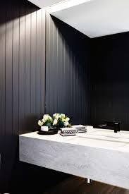 Design Bathrooms Best 25 Black Powder Room Ideas On Pinterest Black Bathroom