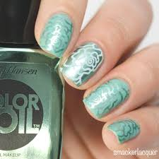 how to use your rubber nail art stamper smackerlacquer