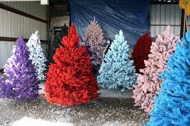 flocked trees workfuly