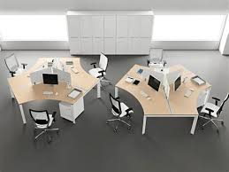 3 person workstation desk system tips organized office furniture