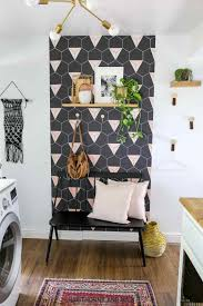 laundry room wallpaper ideas best home decor