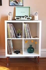 Dvd Rack Ikea by Best 25 Ikea Record Storage Ideas On Pinterest Record Storage