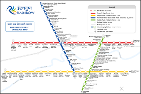 Route Map by Map Rainbow Brts