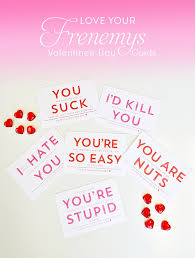 nerdy s day cards frienemy valentines day cards