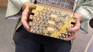 Secret Compartments In Wooden Japanese - japanese puzzle box 72steps with secret compartment koyosegi youtube