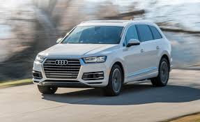 audi jeep 2016 2017 audi q7 3 0t instrumented test u2013 review u2013 car and driver