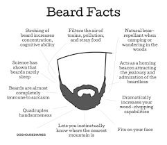 known facts about beards