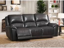 9650 rsm jackson cadet gray reclining sofa leather motion
