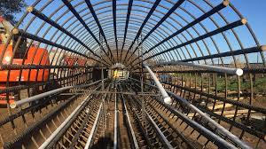 California High Speed Rail Map California High Speed Rail Cahsr Construction Package 1