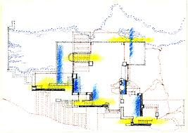 falling water house plans