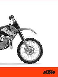ktm motorcycle 85 sx user guide manualsonline com