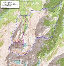 Colorado Fourteeners Map by 14ers Com U2022 Mt Of The Holy Cross Route Description North Ridge