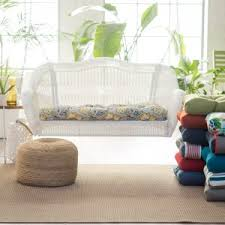 Patio Loveseat Cushion Sofa And Loveseat Cushions Hayneedle