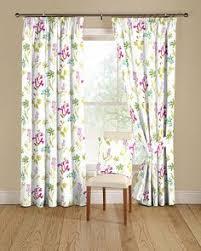 Childrens Curtains Debenhams Modern Casa Floral Trail Print Lined Eyelet Curtains Teal Teal