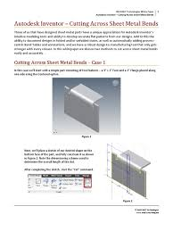 download 14245290 autodesk inventor cut across bends docshare tips