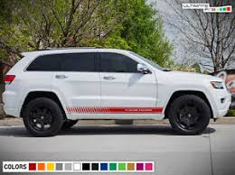 jeep grand cherokee trailhawk off road sticker side decal door for jeep grand cherokee trailhawk offroad