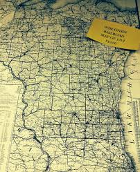 Wisconsin Railroad Map by Maps