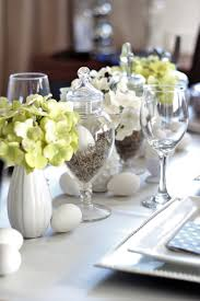 Easter Table Setting Easter Table Setting Using Thrift Store Apothecary Jars A Purdy