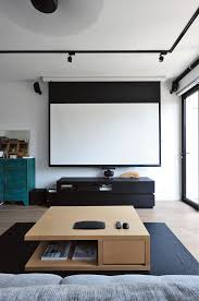projector home theater princes terrace lounge projector screen hong kong projects
