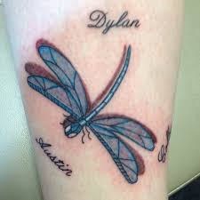 dragonfly tattoo with names creativefan